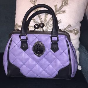 Nightmare before Christmas Loungefly purple purse